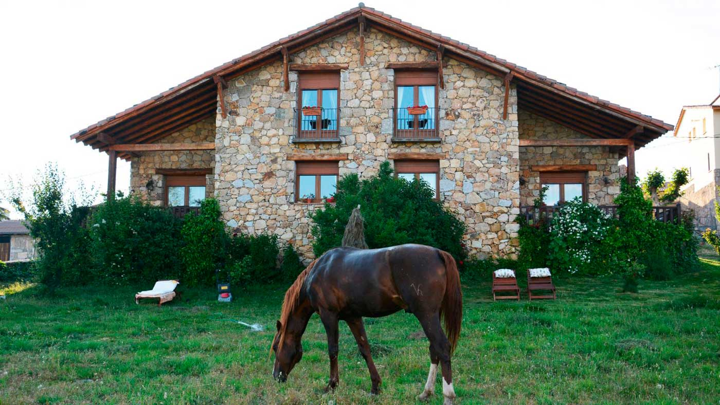 casa rural en gredos