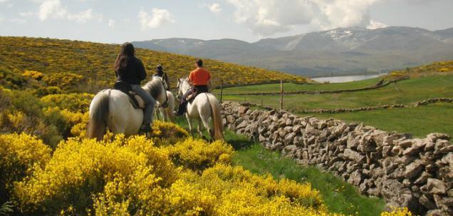 montar a caballo en gredos