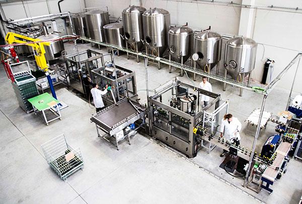 Gredos Norte - Visita a Fabrica de cerveza Hoyo Casero