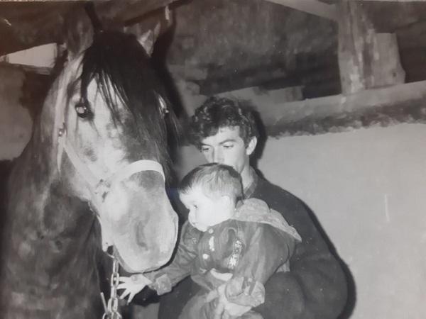 Julián Veneros fue otro pionero de las rutas a caballo en Gredos. Fotografía: Eva Veneros.