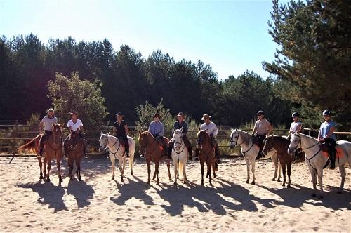 Rutas a caballo en Gredos. Navarredonda de Gredos. Ávila.