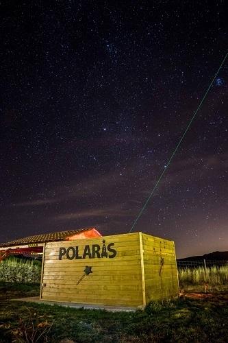 Observatorio astronómico Polaris en Barajas, Navarredonda de Gredos.