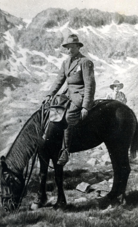El rey Alfonso XIII en Gredos