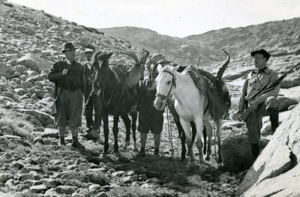 Franco cazando en Gredos
