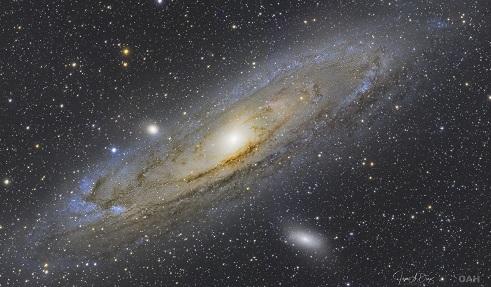Galaxia de Andrómeda.