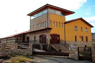 Instalaciones en San Martín de la Vega del Alberche donde tiene lugar el campamento de Kells College.