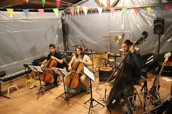 Musicinema. Campamento de música en Gredos.
