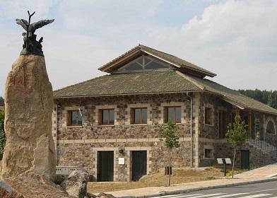 Casa del Parque, en Hoyos del Espino