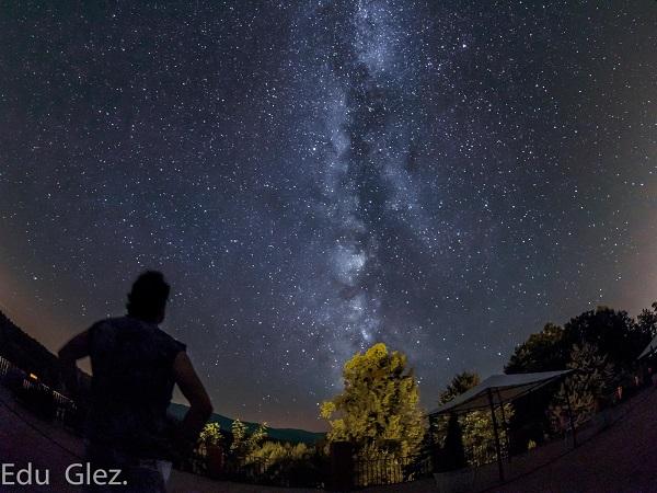 La Vía Láctea desde Gredos Norte.