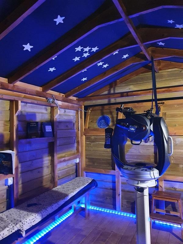 Observatorio astronómico en Gredos