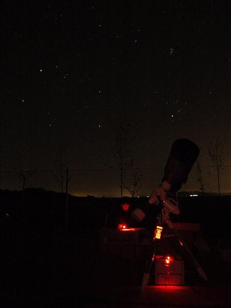 Observación nocturna.