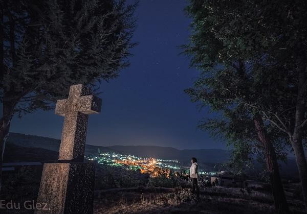 Cielo desde Hoyos del Espino, Ávila