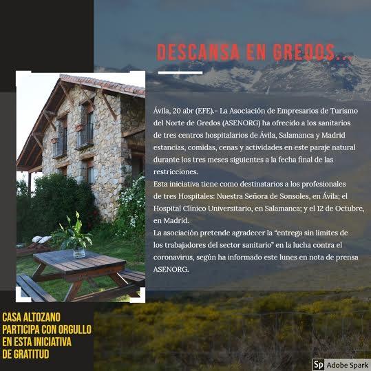 La Casa del Altozano.Navarredonda de Gredos