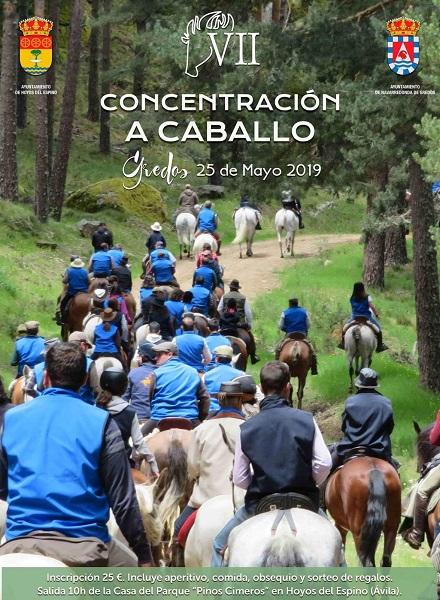 Concentración a caballo. Gredos
