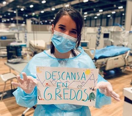 Sara Veneros Hernández. Enfermera.
