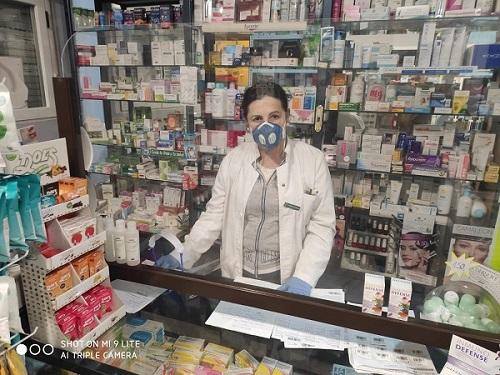 Marisa Hernández, farmacéutica de Hoyos del Espino