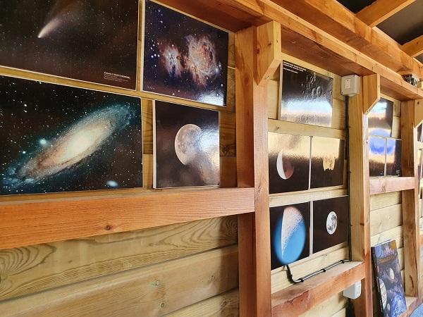 Interior del observatorio Polaris en Gredos