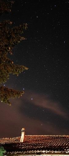 Cielo estrellado en Barajas, Navarredonda de Gredos, Ávila,. Foto: Alvaro Villamor.