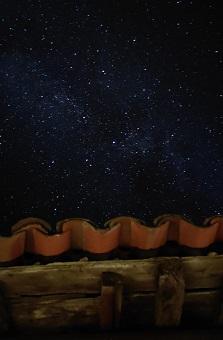 cielo estrellado en Gredos