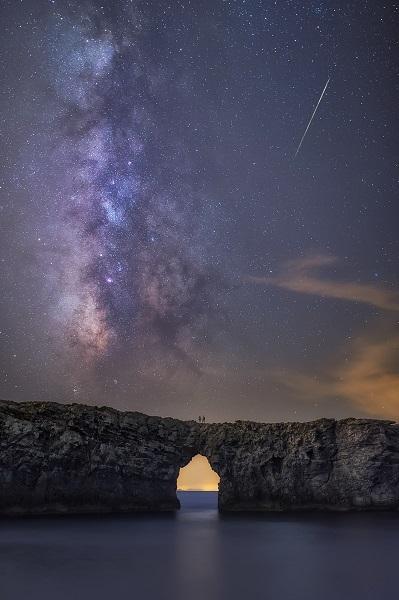 Estrella fugaz Menorca