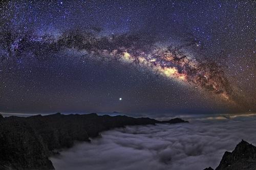 Cielo de La Palma