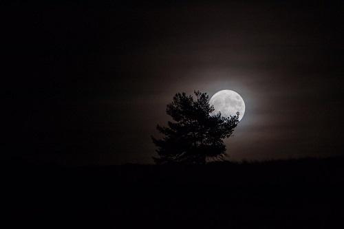 Luna de octubre.