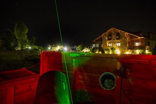 casa rural y observatorio