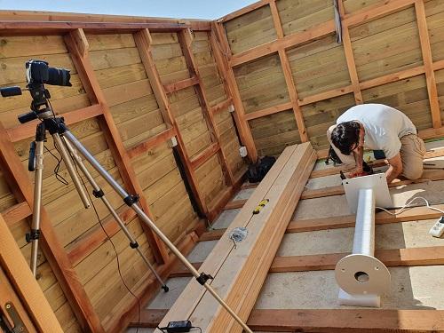 construcción de observatorio