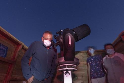 Observatorio Polaris en construcción.