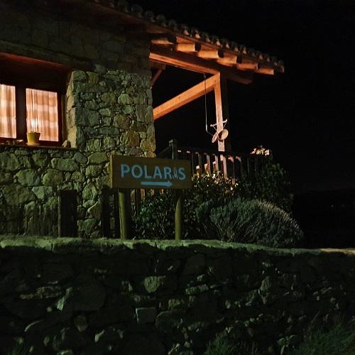Construcción del acceso al observatorio astronómico Polaris, en Navarredonda de Gredos. Ávila.