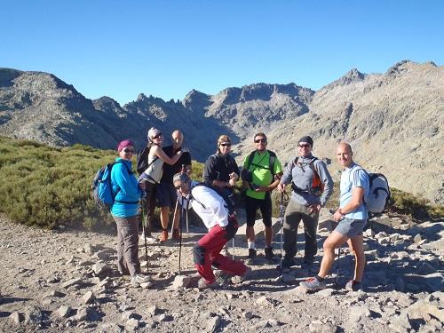 Ruta de montaña en Gredos