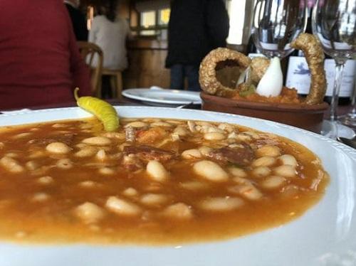 Judías del Barco. Bar Restaurante Gredos. Hoyos del Espino. Ávila. Comer en Gredos.