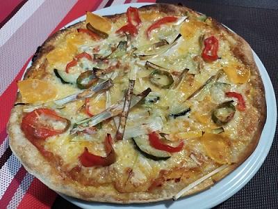 Pizza para llevar de La Galana, en Hoyos del Espino.