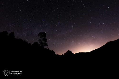 Contaminación lumínica. Foto de Carlos González Aznar, del Laboratorio de Astronomía.