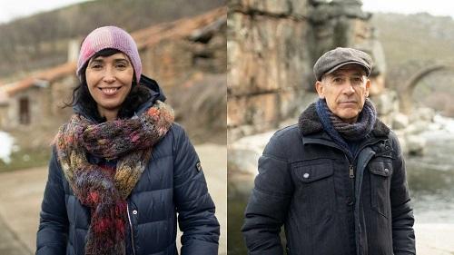Los novelistas Edurne Portela y José Ovejero viven en un pueblo de Gredos.