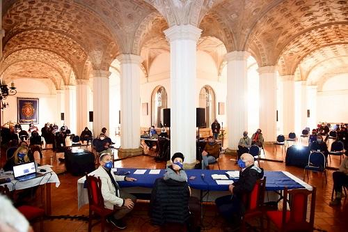 IV Encuentro Starlight de Astroturismo y II Meeting Starlight de Guías y Monitores, Monasterio del Olivar, Teruel. Foto: Fernando Ruiz. Via fundacionstarlight.org.